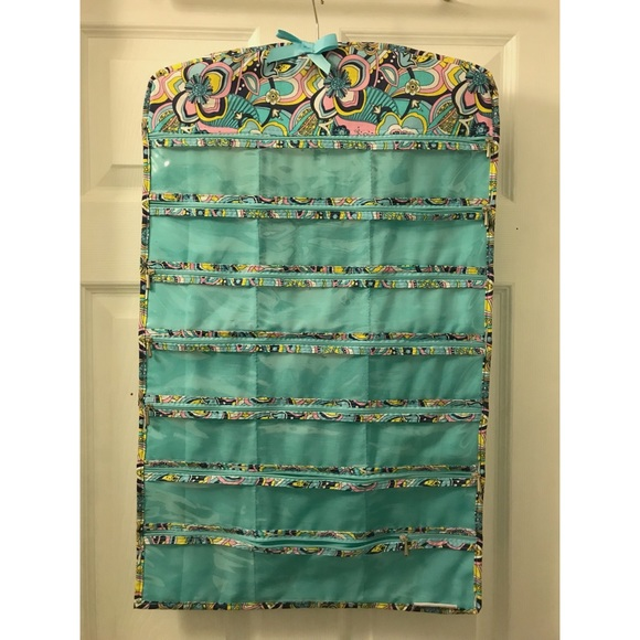 Jewelry 42 Pocket Hanging Organizer With Zippers Poshmark